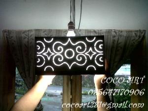 Lampu dinding minimalis tembaga kuningan