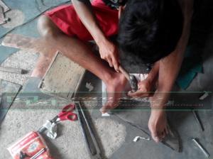 proses pembuatan garuda tembaga dan kuningan