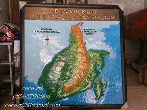 peta wilkum kalimantan tembaga kuningan alumunium