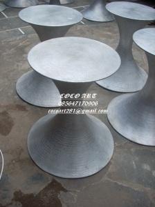 contoh gambar kerajinan (meja logam minimalis) tembaga dan kuningan coco art