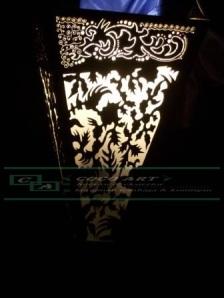 lampu dinding tembaga kuningan